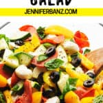 antipasto salad pinterest pin