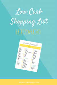 low carb food list is free printable that you can load right to your phone. Take this low carb food list with you anywhere!