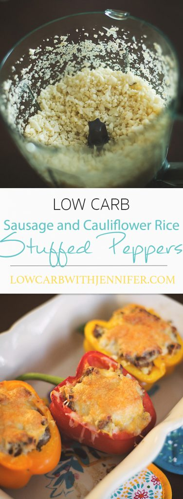 Low Carb Stuffed Peppers