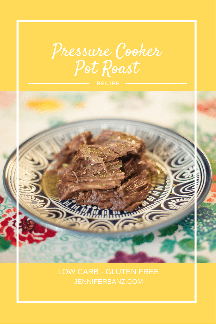 This delicious pressure cooker pot roast was a cinch in my Instant Pot and only 2 ingredients!