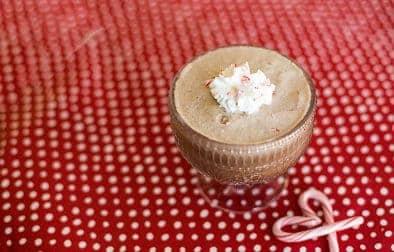 Low Carb frozen peppermint mocha