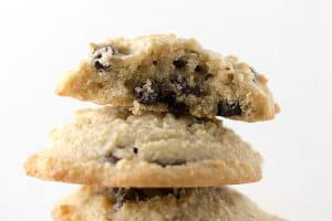 Healthy Chocolate Chip Cookies that are low carb and gluten free
