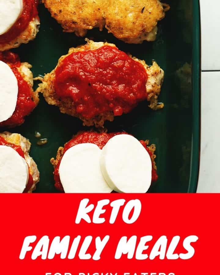keto family meals pinterest pin