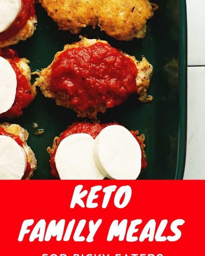 keto family meals pinterest pin