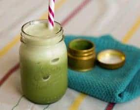 low carb matcha latte 2
