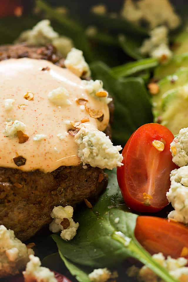 Try this low carb burger bowl the next time you have a burger craving. It will not disappoint.