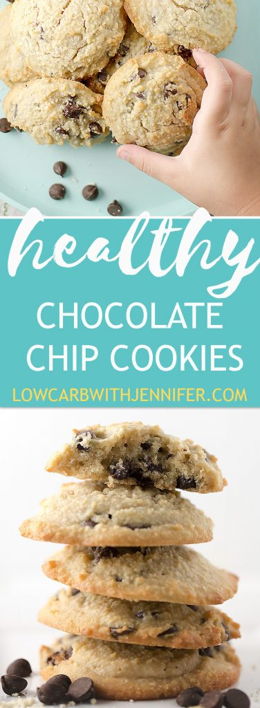 Healthy Chocolate Chip Cookies - Low Carb and Gluten Free • Low ...