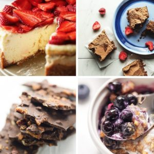 4 keto desserts