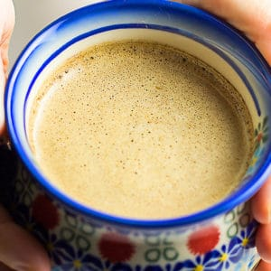 keto coffee in a mug