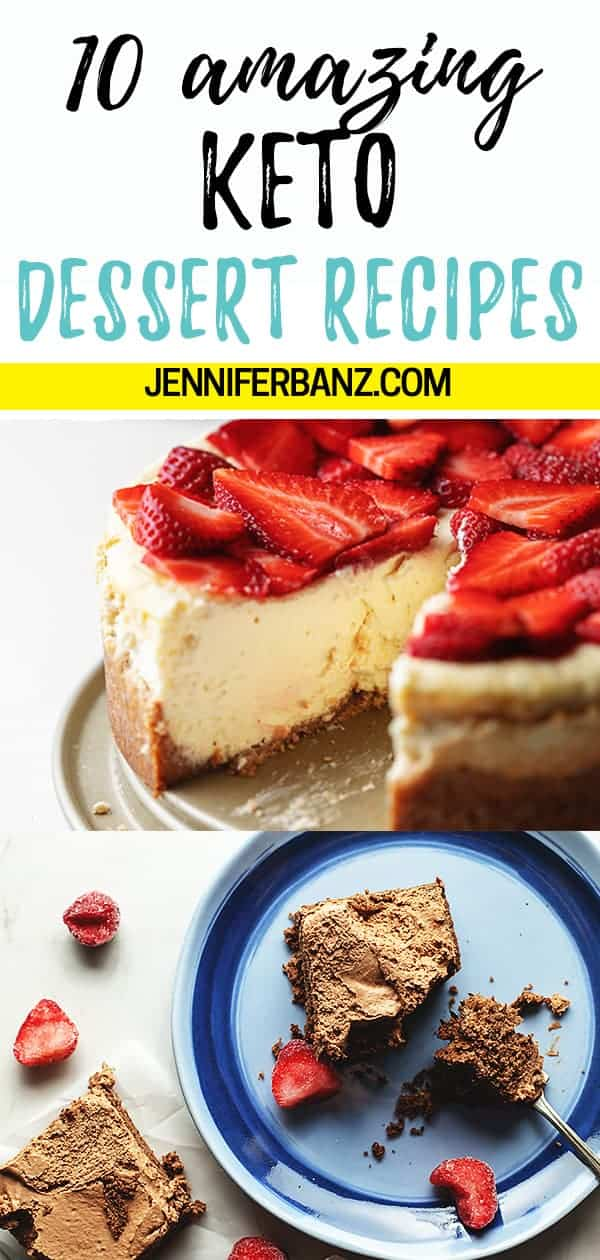 10 Easy Keto Desserts for any Occassion \u2022 Low Carb with Jennifer