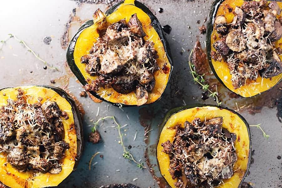 is acorn squash keto diet friendly
