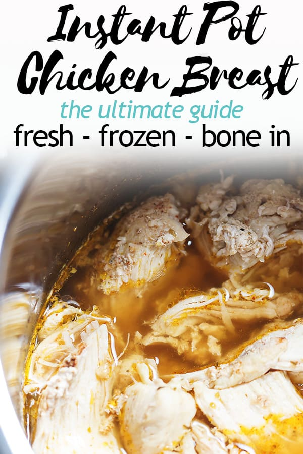 This is your ultimate guide to Instant Pot Chicken Breast. I show you how to cook fresh and frozen boneless skinless chicken breast in the Instant Pot, bone-in chicken breast, shredded chicken breast, and poached chicken breast. I also give you some different seasoning combos like Mexican, Italian, Curry, and All Purpose #instantpotrecipes #istantpot #chickenrecipes #chickenbreasts #ketochickenrecipes