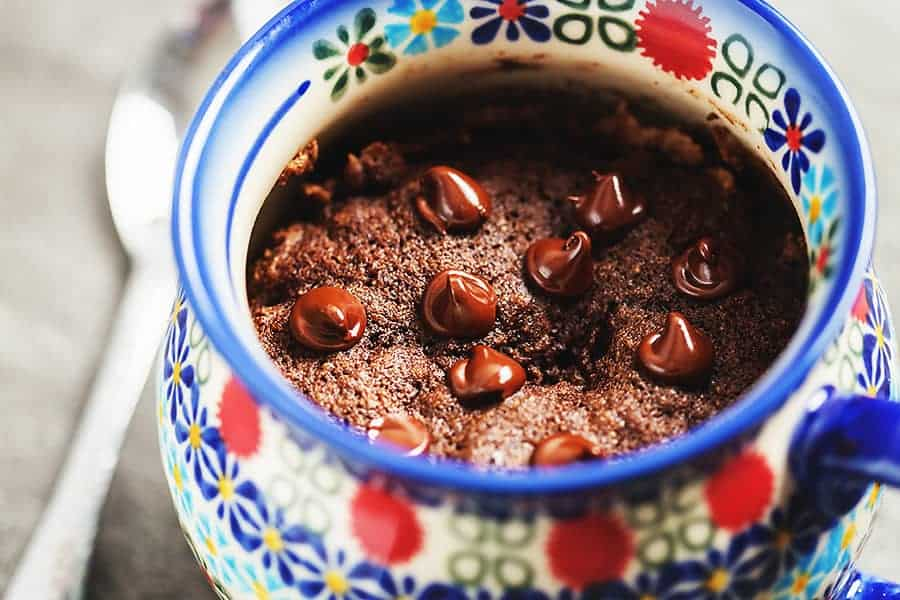 Keto Mug Cake Chocolate Or Vanilla Low Carb With Jennifer