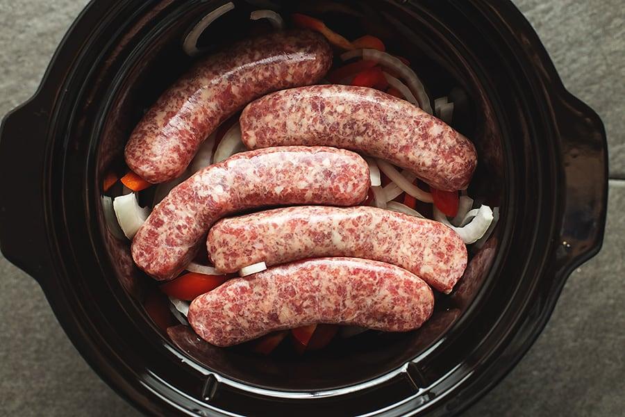 sausage in a crock pot