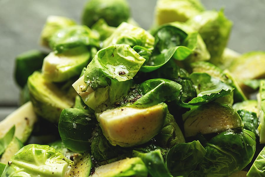 Air Fryer brussel sprouts