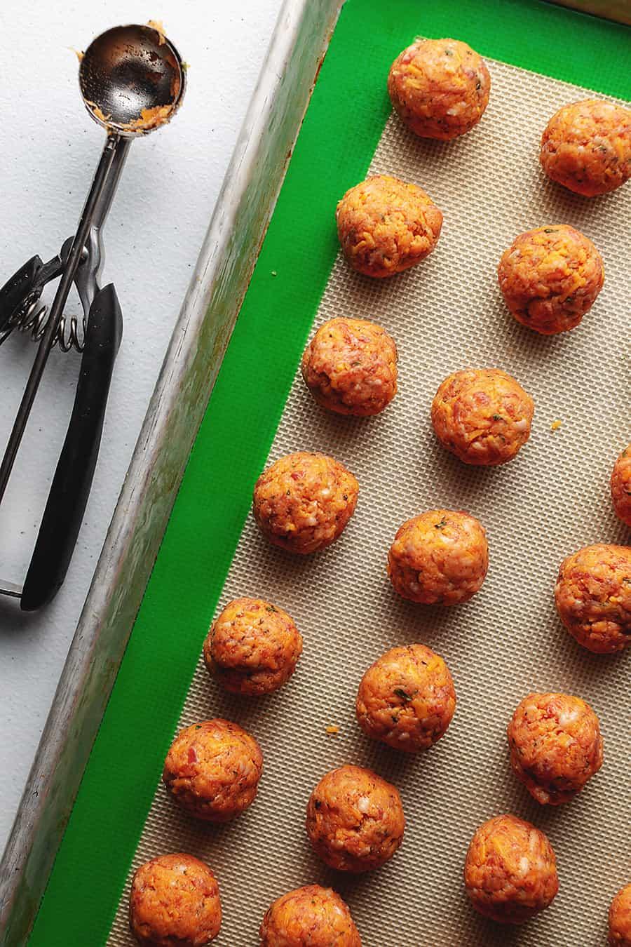 keto sausage balls