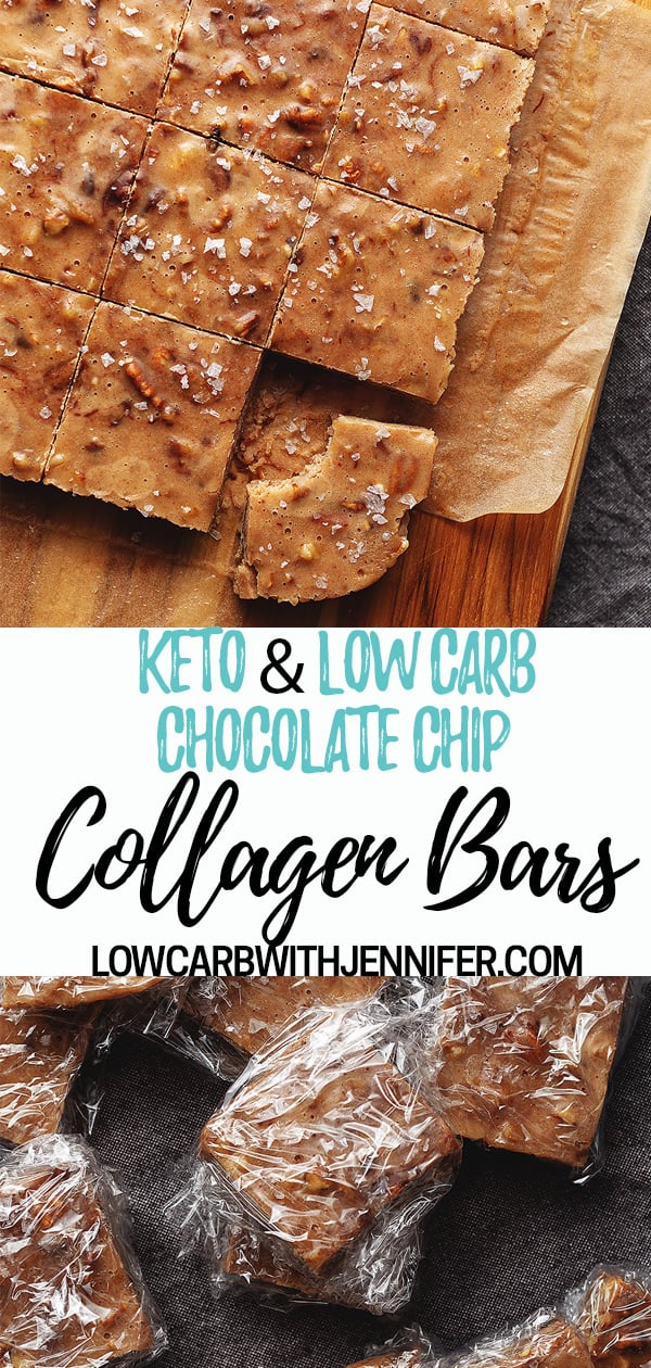 The perfect keto snack to keep on hand in your freezer. These are filled with walnuts, pecans, coconut oil, almond butter, chocolate, and collagen.