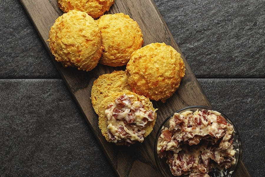 biscuits and bacon butter
