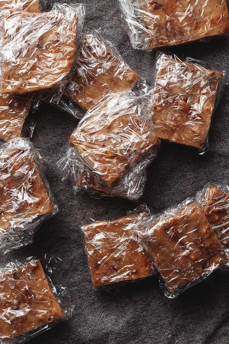 wrapped keto snacks