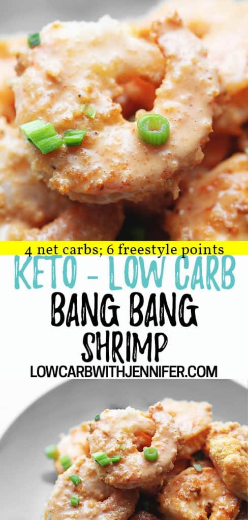 keto bang bang shrimp pinterest pin