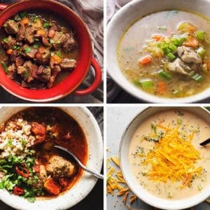 Soup recipes are one of my favorite recipes to make...especially low carb soup! I give tips on thickening keto soups and stews and vegetables that are best for soup.