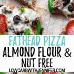 fathead pizza Pinterest pin