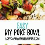 poke bowl Pinterest pin