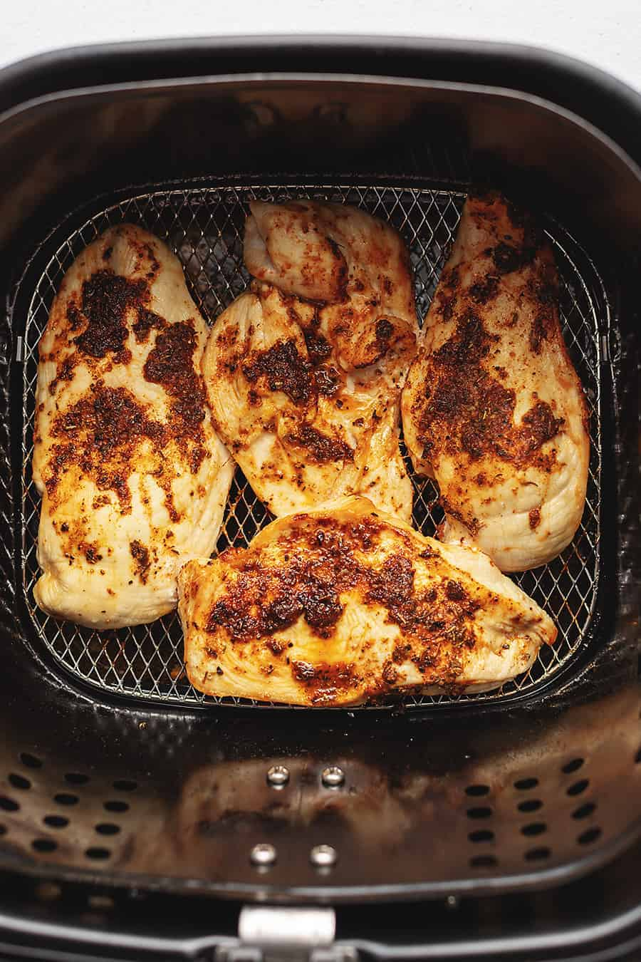 air fryer chicken breast cooked 1