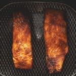 salmon filets in a air fryer