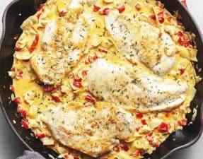 artichoke chicken skillet