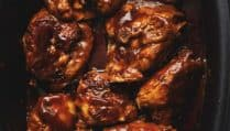crock pot bbq chicken thighs
