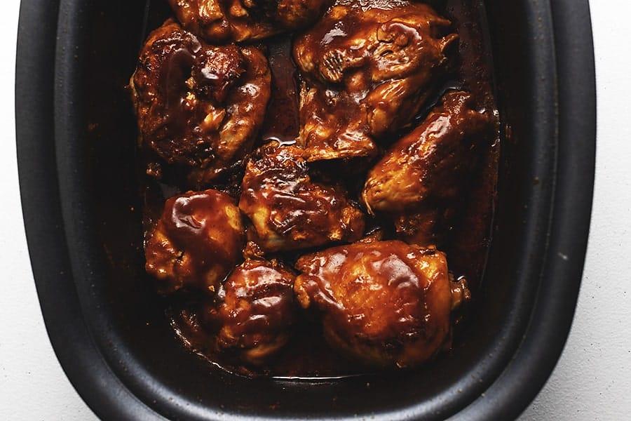 crockpot bbq chicken thighs