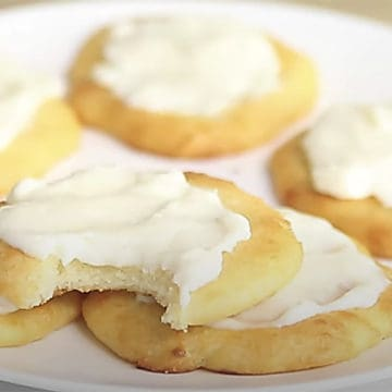 keto cheese danishes on a white plate