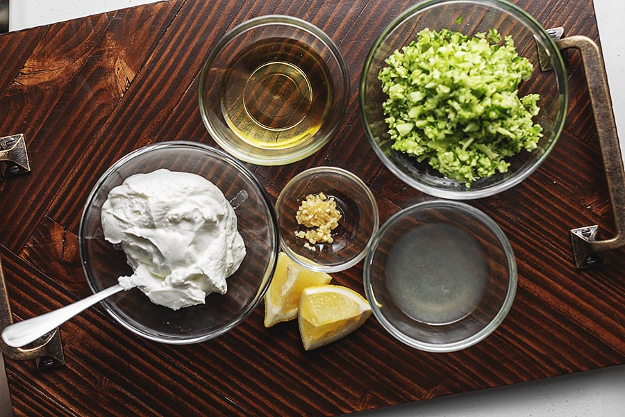 tzatziki ingredients