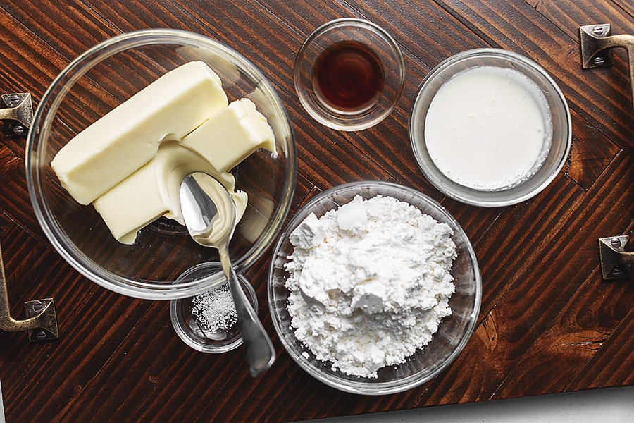 keto buttercream frosting ingredients i