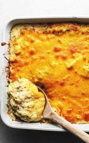 baked chicken spaghetti with squash