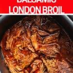 slow cooker London Broil Pinterest Pin