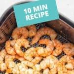 air fryer garlic shrimp pinterest pin