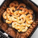 keto air fryer garlic shrimp in the air fryer