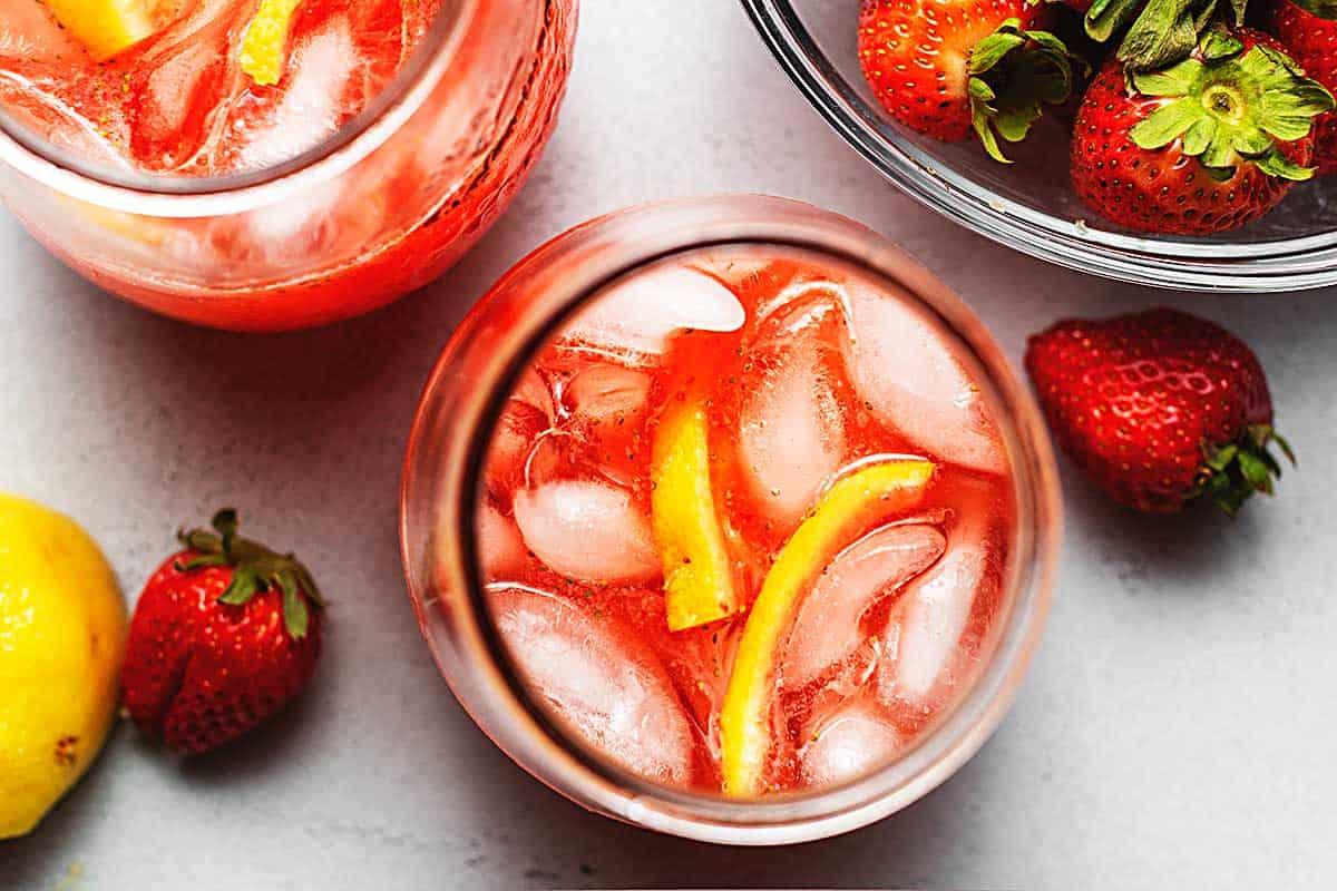2 cup of strawberry lemonade