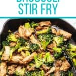 stir fry pinterest pin