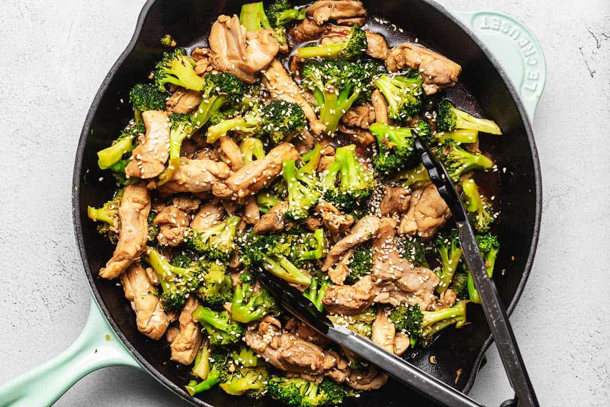 Keto Chicken Broccoli Stir Fry Low Carb With Jennifer