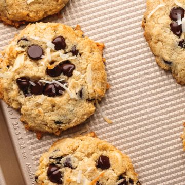 best keto cookies on a sheet tray